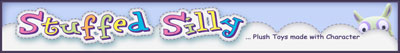 the banner for Stuffed Silly's shop