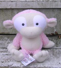 Pink Plush Monkey