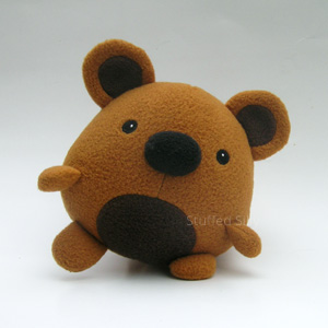 cute and unique plush toy bear